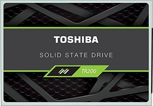 Toshiba TR200 - Disco Duro sólido Interno SSD de 480 GB (555/540 MB/s, Serial ATA (SATA) 6 Gbit/s, 2,5) Color Negro