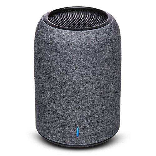 ZENBRE Enceinte Bluetooth, M4 Mini Enceintes Sans Fil Bluetooth 4.2, Haut-parleur pour Ordinateur avec Résonateur de Basses Amélioré, Microphone Intégré(Noir)