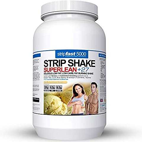 Diet Whey Protein Powder Shakes Weight Loss Support For Men & Women With DIET PLAN & RECIPE BOOK (Vanilla Ice Cream,