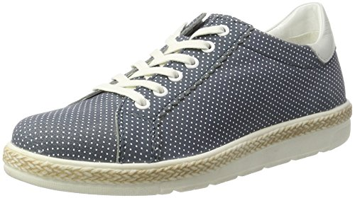 Bugatti J97011l, Sneakers Basses Femme Bleu (Jeans 455)