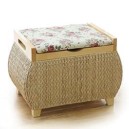 Coussin pour Le Salon Tabouret de Rangement Shoebox Installation Gratuite Tabouret de Rangement Petit Tabouret de canapé…