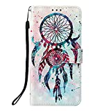 Huawei Y6 2018 Case, Honor 7A Phone Case, PU Leather 3D