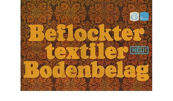 Ddr Fußbodenbelag ~ Beflockter textiler bodenbelag cfx schwarza prospekt ddr: amazon.de