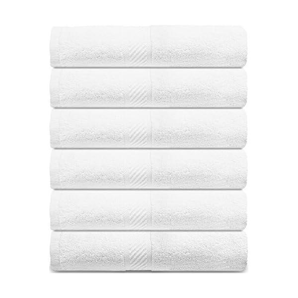 56 x 112 cm Utopia Towels 6 Toallas de Gimnasio Gris 500 gsm Toallas peque/ñas Toallas de Piscina - Toalla de Secado r/ápido multiprop/ósito Ligera