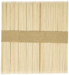 Idea Regalo - Artstraws - Confezione da 1.000 bastoncini classici per ghiaccioli, in legno