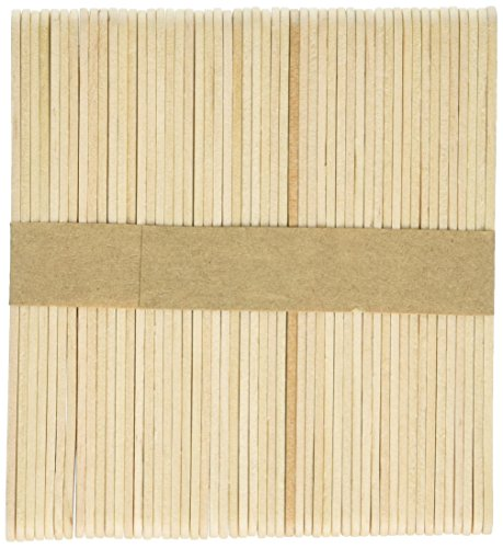 Creation Station 115 x 11 mm Lollipop Sticks, Pack of 1000, Natural