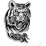 sczl tigre coche pegatinas reflectantes coche pegatinas coche arañazos pegatinas coche puerta lateral cabeza de tigre pegatinas