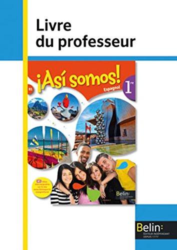 Asi Somos 1re Professeur 2015