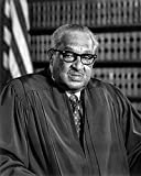 McMahan Photo Archive – Supreme Court Justice Thurgood Marshall 1976 Poster Print (20.32 x 25.40 cm)