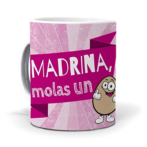mundohuevo Taza Madrina, molas un huevo version