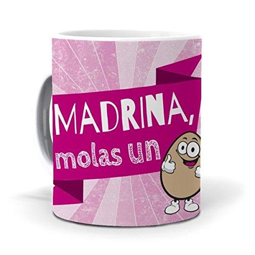 mundohuevo Taza Madrina, molas un Huevo Version