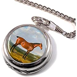 Thrysis, a hunter horse by Herring Full Hunter Pocket Watch