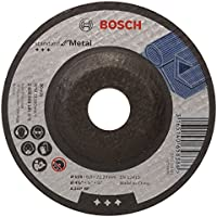 Bosch 2 608 603 181 - Disco de desbaste acodado Standard for Metal - A 24 P BF, 115 mm, 22,23 mm, 6,0 mm (pack de 1)