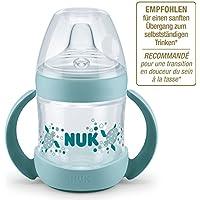 NUK Nature Sense Trinklernflasche, extra breite und weiche Trinktülle, BPA frei, ab 6 Monate, 150 ml