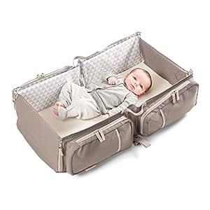 doomoo basics Baby Travel Sac Taupe