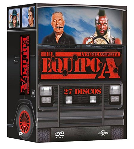 Pack: El Equipo A - Serie Completa [DVD]