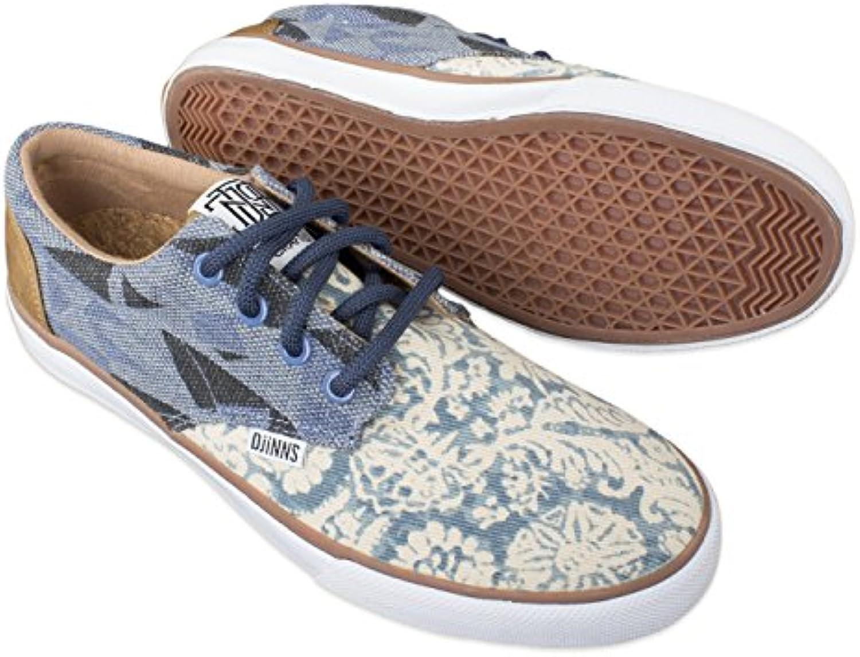 NEUE SNEAKER DJINNS SCHUHE Modell NICE in verschiedenen Farben STYLISCH und angesagt  Schuhgröße:39Farbe:CRASYP BLUE