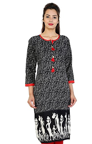 PURE COMFORT Women's and Girl's Long Party Wear Jaipuri Printed Kurtis and...