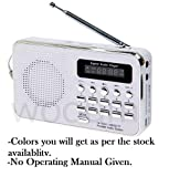 SaleOnTM Rechargeable Outdoor Speaker with FM Radio & MicroSD Card Support-091