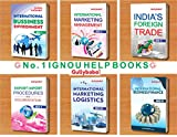 GullyBaba IGNOU (Latest Edition 2019) M.Com IBO-1 IBO-2 IBO-3 IBO-4 IBO-5 IBO-6 English Medium First Year COMBO of IGNOU Help Books with Solved Previous Years Question Papers Important Exam Notes