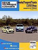 Citroën/Peugeot/Toyota C1/107/Aygo essence et Diesel - 1.0 12V et 1.4D
