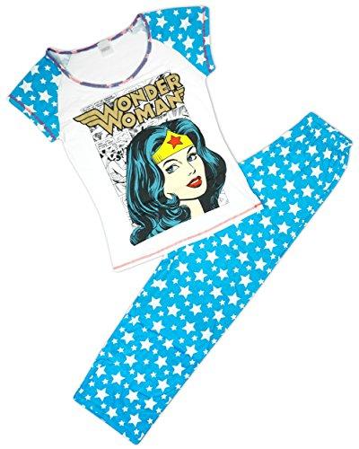 Wonder Woman Baby M/ädchen Schlafstrampler