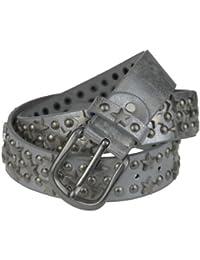 Bags4Less Stern + Nieten Gürtel im Vintage Style Model: SL-21