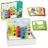 Goula Construcción Madera Ciudad 14 pzas Puzzle Logic City 50200