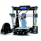 Kingfrog P802M High Precision Prusa i3 Imprimante 3D Kits d'auto-assemblage bricolage avec carte SD pour Guide d'installation de vidéo et image