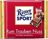 Ritter Sport Traube Nuss Schokolade 5 Tafeln