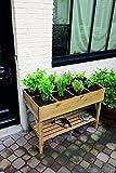 Carrés potager sur pieds8 carrés. Ce carré potager sur pieds est idéal pour cultiver des aromates, fruits ou légumes à hauteur, nécessitant un minimum d'entretien.Son plus est l'étagère de rangement idéale pour poser vos outils de jardinage.Caractéri...