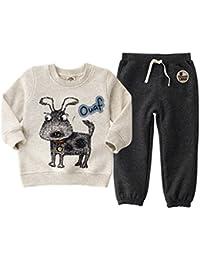 Vine Manga larga Sudaderas Pantalones Ropa Deportiva Niños Algodón Chándales para Niños Bebé Conjuntos