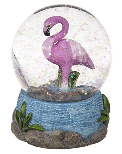 Glitterkugel Flamingo -