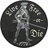 Maxpedition Live Free or Die (SWAT) Moral Patch