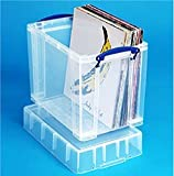 19 litre XL Really Useful clear storage box *MEGA DEAL 1 FOR £14*