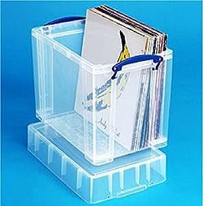 Really Useful 19L XL transparent boîte de rangement * * * * * * * * Mega Deal 1pour £14* * * * * * * *
