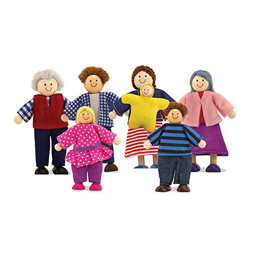(Melissa & Doug Puppenfamilie (5 Teile))