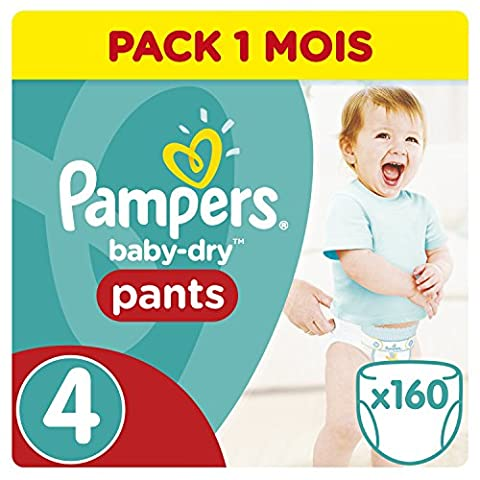 Pampers - Baby Dry Pants - Couches Taille 4 (8-16