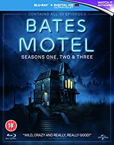 Bates Motel - Season 1-3 [Blu-ray] [2015] [Region Free]