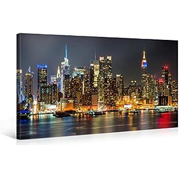 120x80cm leinwandbild auf keilrahmen new york times square reklamen stra e verkehr. Black Bedroom Furniture Sets. Home Design Ideas
