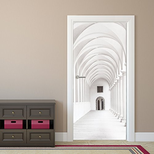 photo-door-mural-purely-arcade-92-x-202-cm-wallpaper-sidewalk-hallway-decodeals-pasting-brushmit-bur