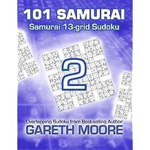 Samurai 13-grid Sudoku 2: 101 Samurai