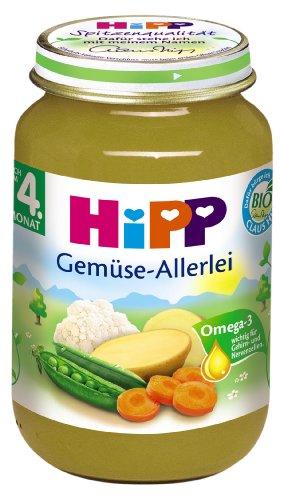 Hipp Gemüse-Allerlei, 6-er Pack (6 x 190 g) - Bio