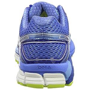 Brooks Adrenaline GTS 17, Zapatillas de Gimnasia para Mujer, Azul (Azure Palace Blue/Lime Punch), 35.5 EU