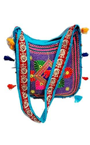 Mano metallo frizione cum Sling Bag, borsa, il sacchetto di sera etnica di classe in stile vintage indiano / Indian Vintage style Handmade stylish Ethnic Metal Clutch cum Sling Bag ,Purse, Evening bag