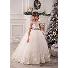 VIPbridal Los niños lindos de las niñas florecen el vestido de la primera comunión de los cabritos
