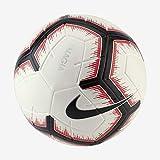 Nike NK Magia Balón de fútbol, Adultos Unisex, White/Bright Crimson/Black, 5