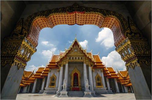 Stampa su tela 60 x 40 cm: Archway to the temple di Colourbox - poster pronti, foto su telaio, foto su vera tela, stampa su tela