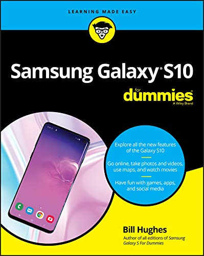 Samsung Galaxy S10 For Dummies (For Dummies (Computer/Tech)) (English Edition) (Dummy-samsung)
