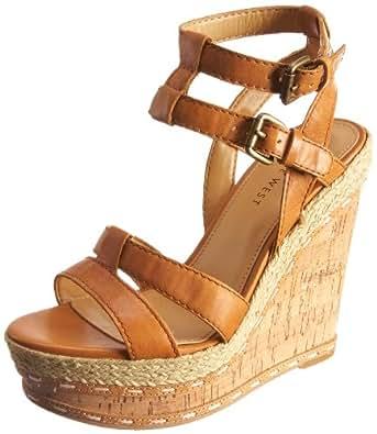 Nine West Women's Botos Camel Wedge Heel 1921248109 3 UK